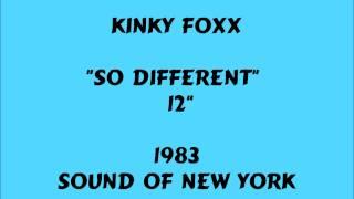 "Kinky Foxx - So Different - [12""] - 1983"
