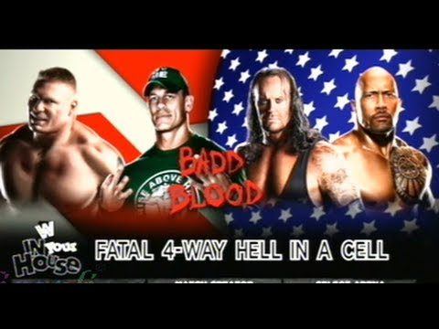 WWE Hell In A Cell John Cena vs Undertaker vs Brock Lesnar vs The Rock I Hindi Commentary Travel Video