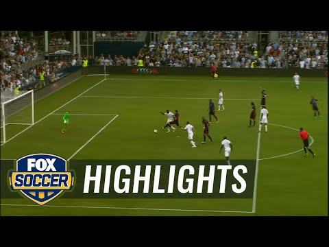 Ike Opara makes it 3-1 for Sporting Kansas City | 2016 MLS Highlights