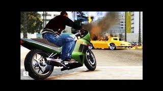 GTA San Andreas - Трюки, Аварии и Приколы! (На движке GTA 4)