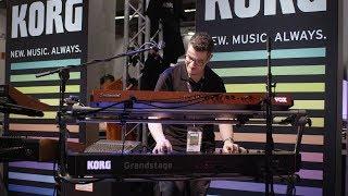 KORG Grandstage - Präsentation Musikmesse Frankfurt 2018