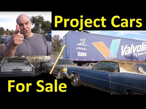 Scrapping Barn Find Project Cars Used For Sale Cheap ~ $350
