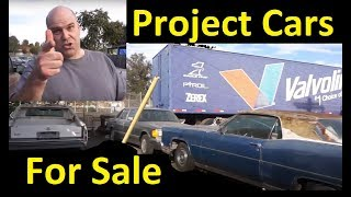 Scrapping Barn Find Project Cars Used For Sale Cheap ~ $350 & Up Last Chance