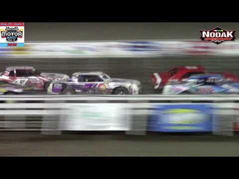 Nodak Speedway IMCA Stock Car A-Main (Motor Magic Night #1) (9/1/18)