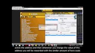 Clicker Heroes - Hero Souls hack V0 17a!! with cheat engine!! on Chrome