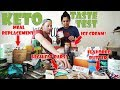 MASSIVE Keto Product Taste Test | Enlightened Ice Cream, Keto Chow, Lakanto Sweetener