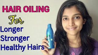 Hair Oiling |How to Get Strong Hairs Naturally with Dabur Amla Hair oil  And coconut oil