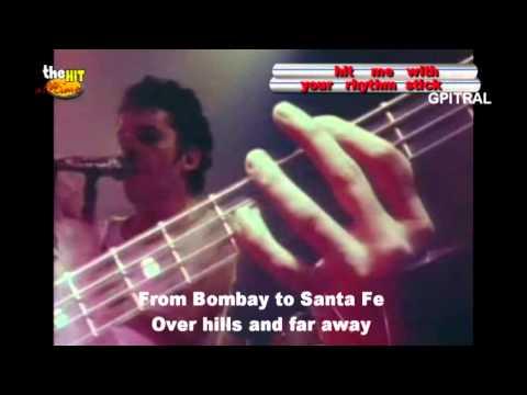 Ian Dury & The Blockheads Hit me with your rhythm stick lyrics