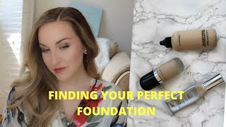 How to Find The Perfect Foundation | Makeup for Beginners