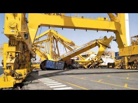 Jebel Ali Port | United Arab Emirates,  Trade for Dubia and Crane Collapse