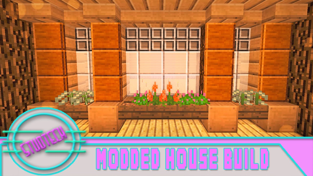 Minecraft how to build a house window design studtech for Window design minecraft