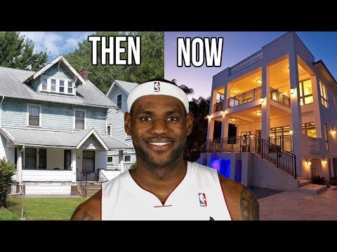 10 Superstar Athletes Houses Then and Now