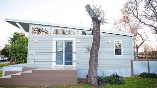 Stunning Beautiful Modern Open Concept Tiny House | Living Design For A Tiny House