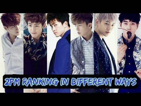 2PM RANKING IN DIFFERENT WAYS