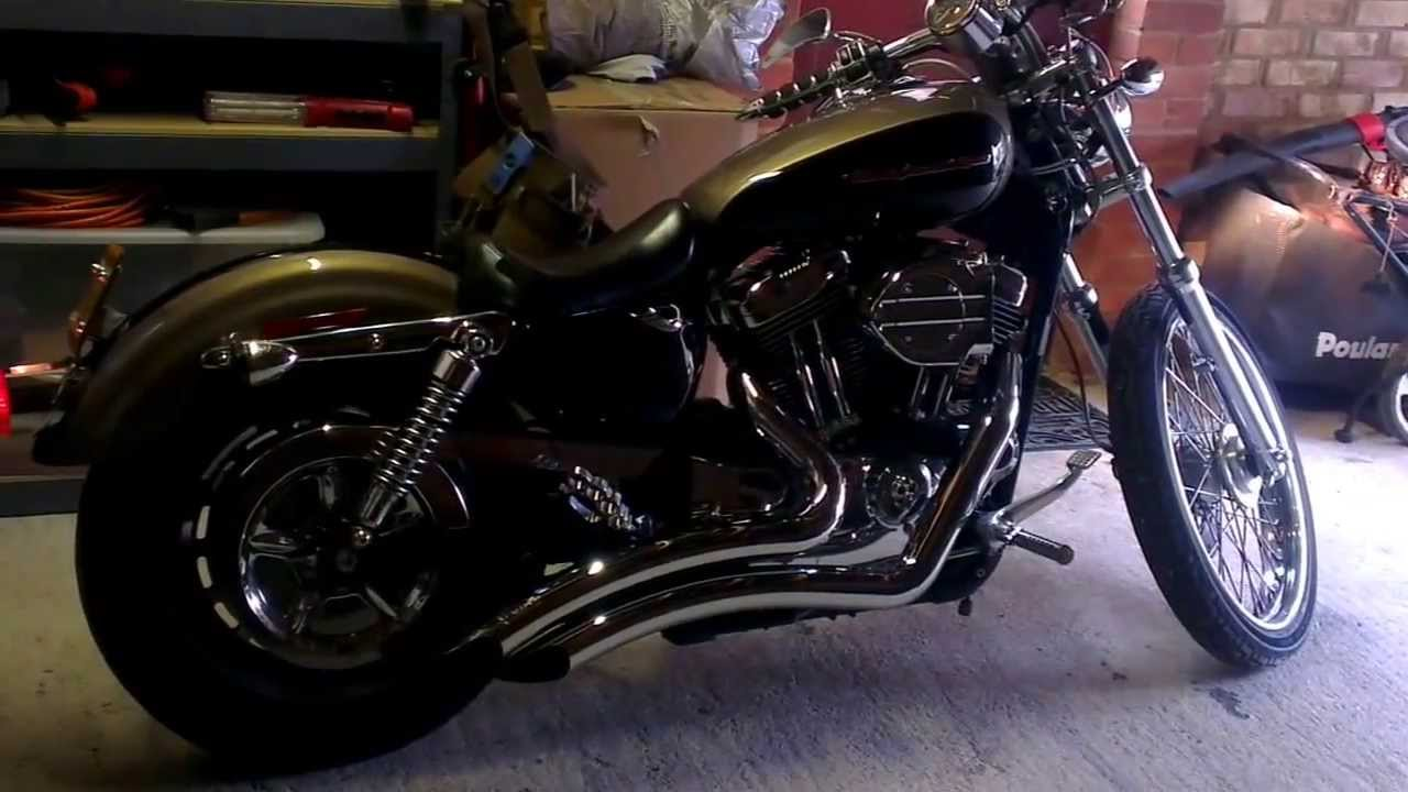2004 HD Sportster 1200 Custom with Freedom Performance pipes