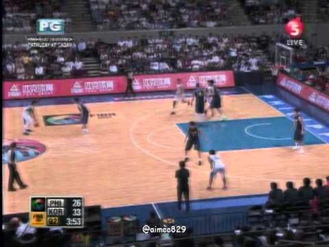 2013.08.10 || FIBA Asia Championships || SEMIS PHI vs SoKOR with Sports5 Pre and Post Game
