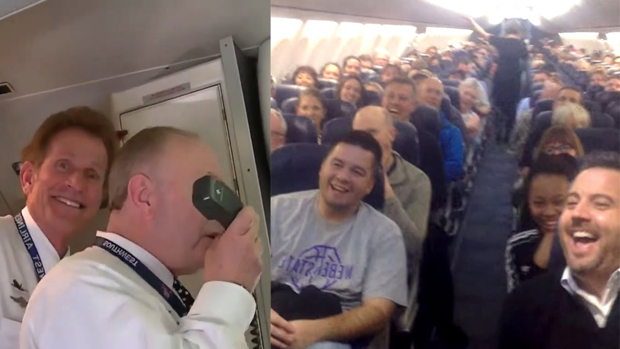 When Flight Attendants Are Stand Up Comedians! Hilarious Compilation