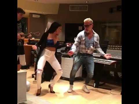 JENN MOREL danc in the studio