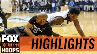 Butler Bulldogs beat Xavier Musketeers at home 83-78 | 2017 COLLEGE BASKETBALL HIGHLIGHTS