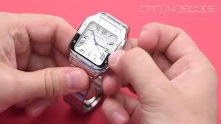 Santos de Cartier - обзор часов