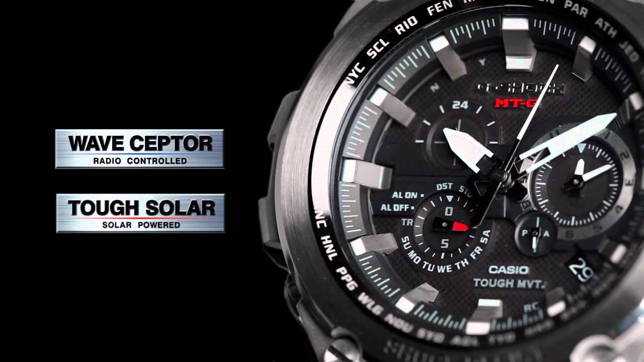 d8266563f876 Casio G-Shock MTG-S1000BD-1AER Radio Solar Premium Watch