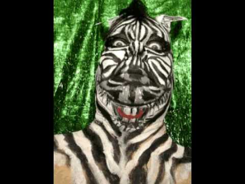 Face Painting Zebra Images