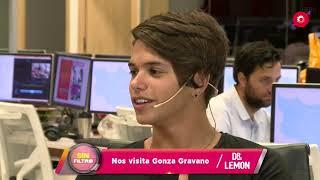 #SinFiltro: Flor Vigna en un mano a mano con Gonza Gravano
