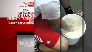 catching 101 with xan barksdale youtube channel for baseball catchers