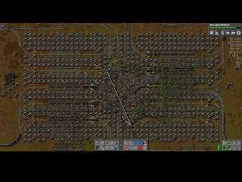 Repeat Factorio S6E92 - First Logistics Train Network Train