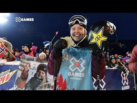 Get Johanne Killi wins Women's Ski Slopestyle gold | X Games Norway 2017 Screenshots