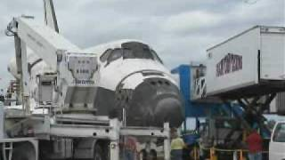 STS-133:Discovery Landing Replays
