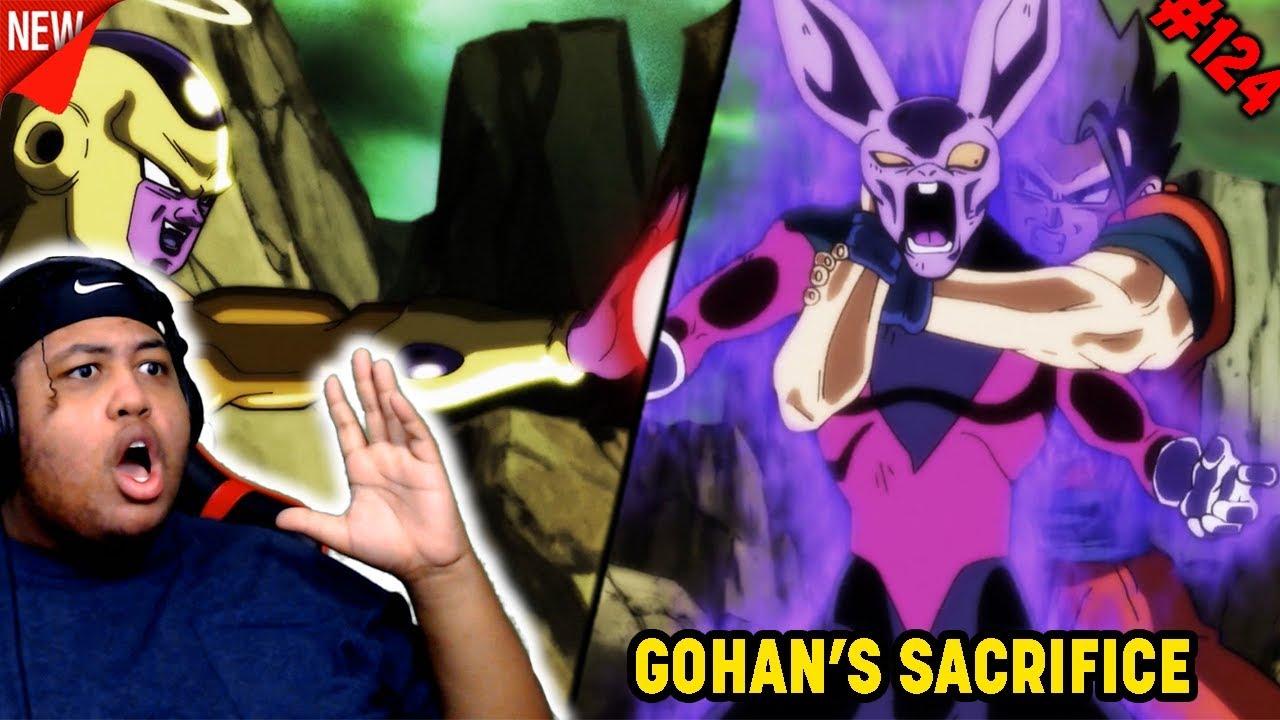 Download GOHAN'S ULTIMATE SACRIFICE!! Dragon Ball Super English Dub Episode 124 Reaction!