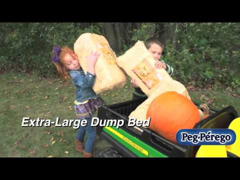 Ride On Toy   John Deere Gator 6x4 by Peg Perego
