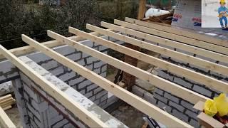 видео Как сделать крышу бани