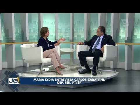 Maria Lydia entrevista Carlos Zarattini, dep. fed. PT/SP