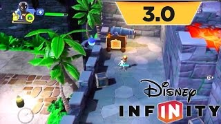 Disney Infinity 3.0 Game-play - Toy Box Takeover As Sam Flynn
