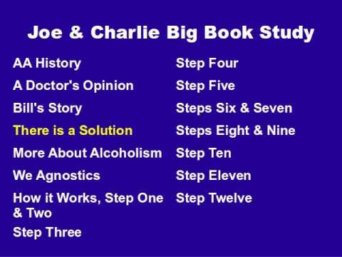 Joe & Charlie Big Book Study Part 4 Of 15 - There Is A Solution