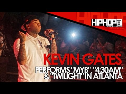 "Kevin Gates Perform ""MYB"", ""4:30am"" & ""Twilight"" At Mars In Atlanta"