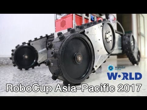 RoboCup Asia-Pacific 2017 [by Mahidol]