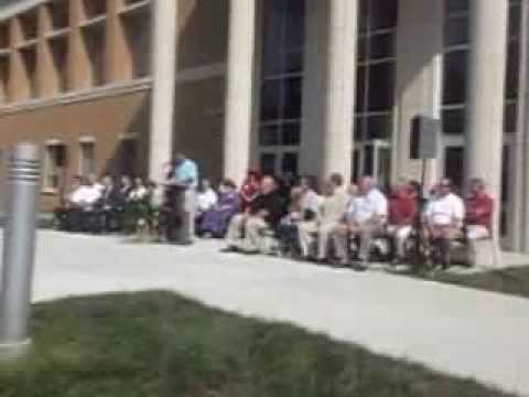 Dedication of the Fifth Union County Courthouse