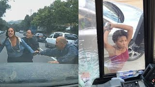 Road Rage Compilation August Pt2 - (Collection of Popular Road Rage Videos on Social Media)