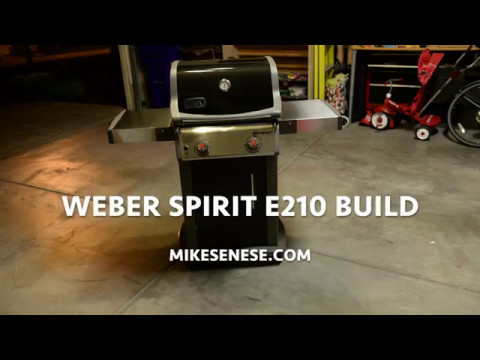 One Minute Build Weber Spirit E 210 Grill Youtube