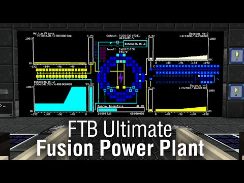 [Minecraft] [FTB Ultimate] Fusion Power Plant