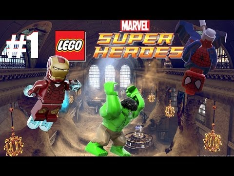 LEGO Marvel Super Heroes: Universe in Peril - Part 1 Sand Central ...