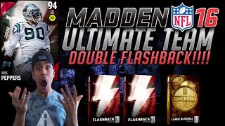 OMFG WOW! HUGE DOUBLE FLASHBACK PACK OPENING! LARGE QUICKSELL!- MADDEN 16 ULTIMATE TEAM