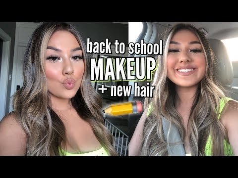Back to School College / High School Makeup Tutorial ♡ Adyel Juergensen thumbnail