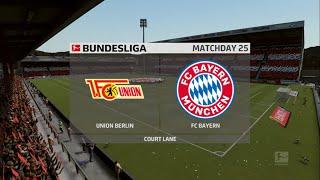 Union berlin vs bayern munich - fifa 20 (bundesliga)