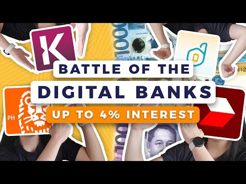 🤑 Best High Interest Savings Account Philippines (Komo, ING, CIMB, Diskartech) | Digital Banks 2020