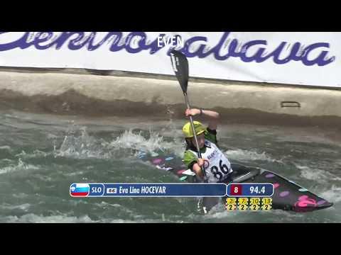 2017 ECA European Canoe Slalom Championhips, Tacen (SLO) - Demo Runs (Even)