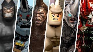 Rhino Evolution in Spider-Man Games